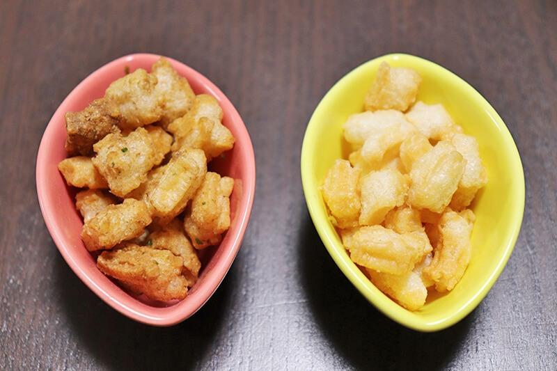 どんどん焼きと餅太郎の比較